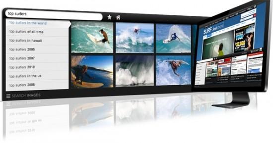 Yahoo Axis Desktop